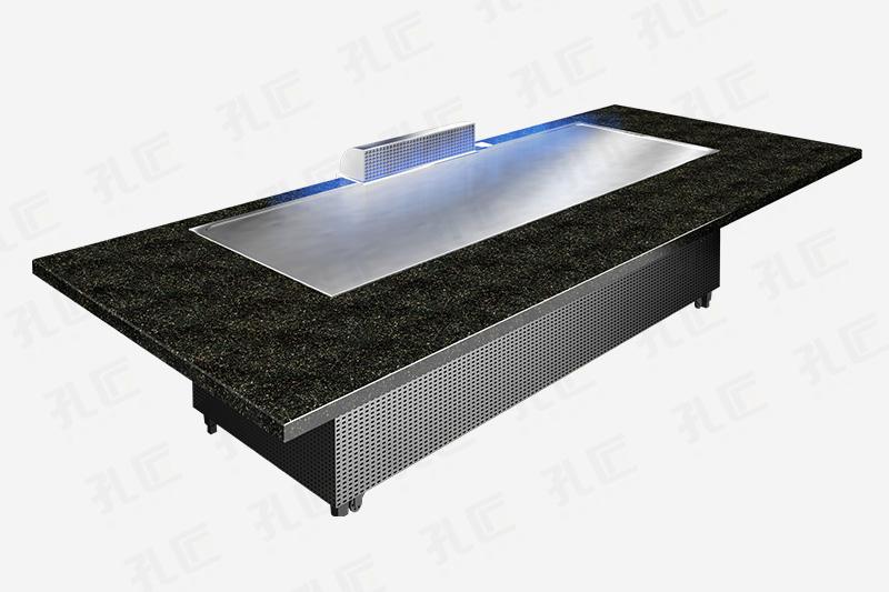 长方形铁板烧设备10人座