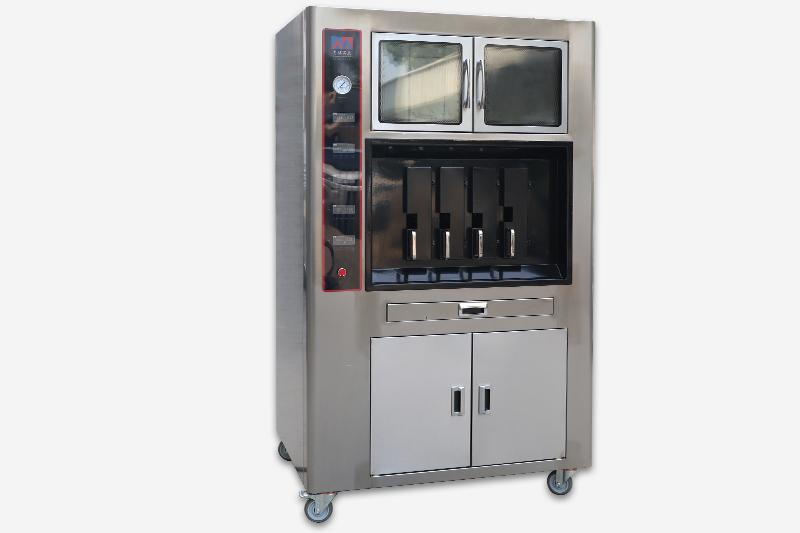 数控电烤鱼炉4口(带保温柜)