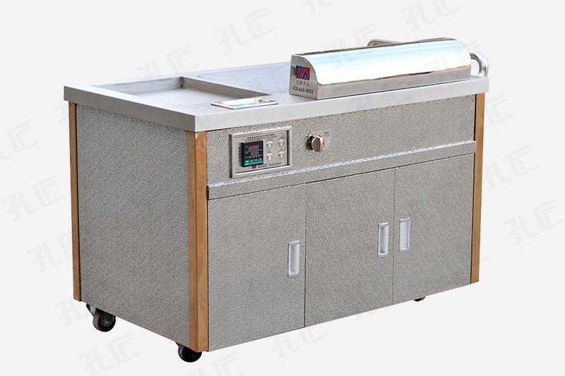 电加热移动铁板烧设备