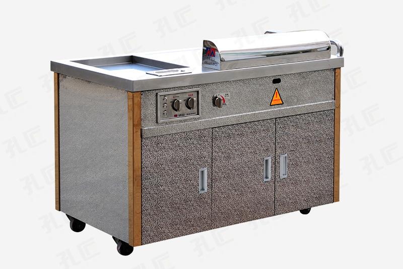 燃气移动铁板烧设备