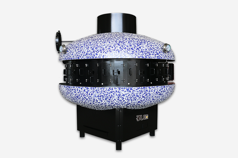 半圆形烤鱼炉炭火7口