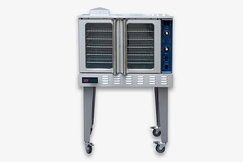 燃气式单层热风烤箱