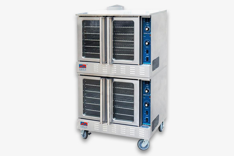 燃气式热风烤箱(双层)